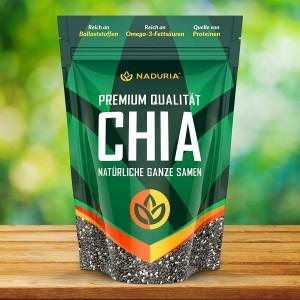 Naduria Premium Qualität Chia Samen